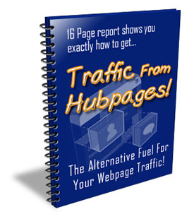 Traffic from Hubpages