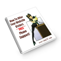 How To Offer Your Website Visitors FREE Phone Support