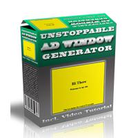 Unstoppable Ad Window Generator