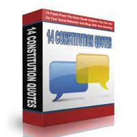 14 Fresh Constitution Quotes