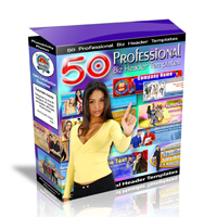 50 Professional Biz Header Templates Set 2