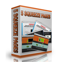 5 PLR Squeeze Pages