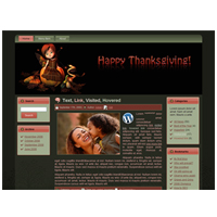 Autumn WordPress and Blogger Theme