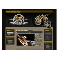 Bikers Club - WP Theme