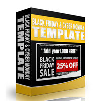 Black Friday and Cyber Monday Templates