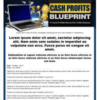 Cash Profits Blueprint Template