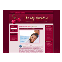 Cherry Love  HTML and WordPress Theme