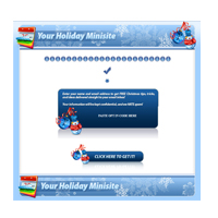 Christmas Themed Minisites and Wordpress Themes