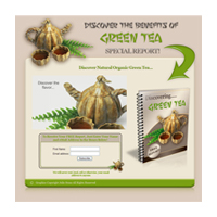 Green Tea Special Report Template