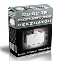 Drop In Content Box Generator