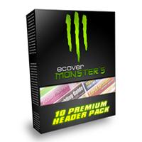eCover Monsters 10 Premium Header Pack