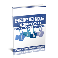 Effective Ways to Grow Facebook Fanbase