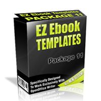 EZ Ebook Templates Package 11