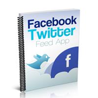 Facebook Twitter Feed App