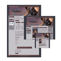 Fashion Theme for Wordpress and Blogger 3