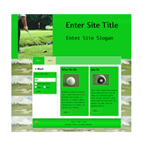 Golf Templates 2