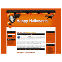 Halloween Site Template 2