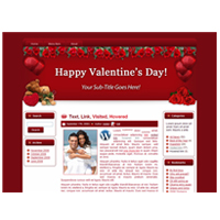Hearts-N-Roses - WP Theme