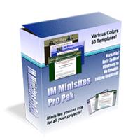 IM Minisites Pro Pak