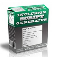 Inclusion Script Generator