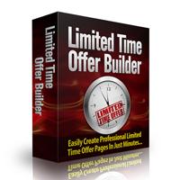 Limited Time Offer Builder Software