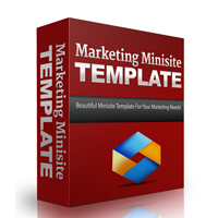 Marketing Minisite Template 3