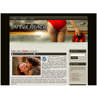 On the Beach 01 - WP Theme