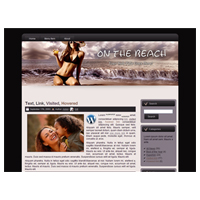 On the Beach 02 - WP Theme