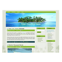 Palm Tree Island WP Theme