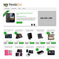 PandaZon Wordpress Theme