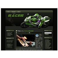 Racer - WP Theme