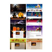 Seasonal WordPress Theme Pack