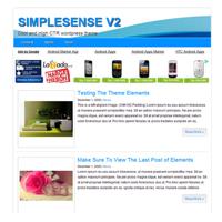 SimpleSense V2 WP Theme