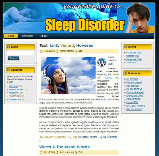 sleepdisorde