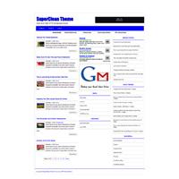 SuperClean Wordpress Theme
