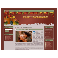 Thanksgiving WordPress Theme