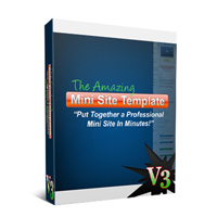 The Amazing Minisite Template Version 3