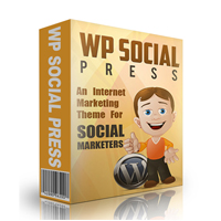 WP Social Media Press Theme