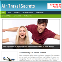 Air Travel PLR Blog