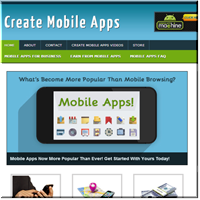 Create Mobile Apps Site