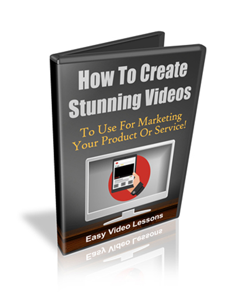 Create Stunning Videos For Video Marketing