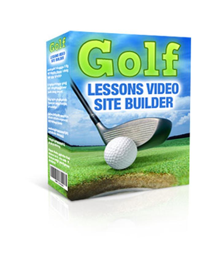 Golf Lesson Video Site Builder