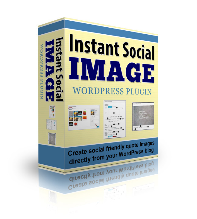 Instant Social Image Plugin