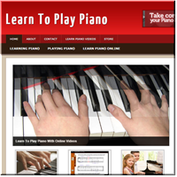 Learn Piano PLR Site