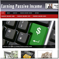 Passive Income PLR Site