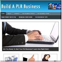 PLR Business PLR Site