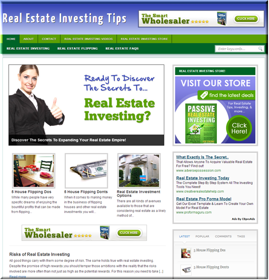 Real Estate Investing PLR