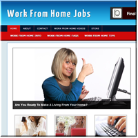 Work From Home Jobs PLR