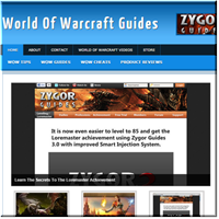 World of Warcraft  PLR Blog
