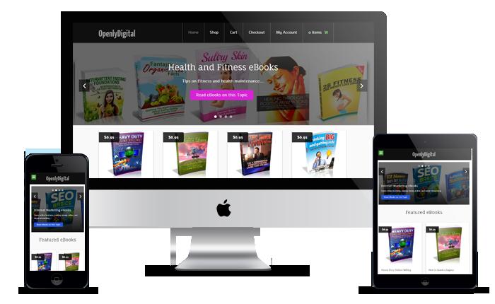 turnkey ebook store